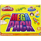 Hasbro 孩之宝 Play-Doh 培乐多彩泥 彩泥补充装 经典36色装 36834