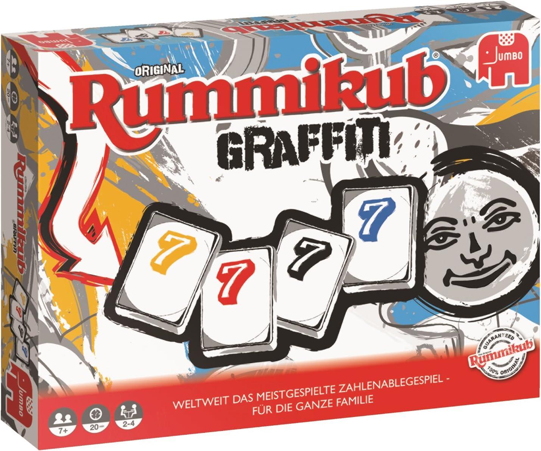 Rummikub Graffiti Niños y Adultos Juego de táctica - Juego de Tablero (Juego de táctica, Niños y Adultos, 20 min, Niño/niña, 7 año(s), 01/08/2017): Amazon.es: Juguetes y juegos