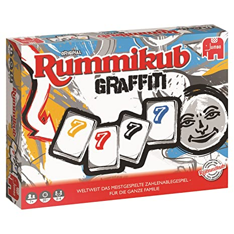 Jumbo Spiele 81509 Rummikub Graffiti Legespiel