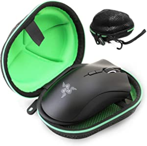 CASEMATIX Esports Mouse Case for Gaming Mice - Compatible with Logitech G Pro, Logitech MX Master 3, Razer Basilisk X, Mamba, DeathAdder Elite, Naga Trinity, Viper/Corsair Harpoon, M65 & More!