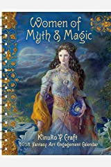 Women of Myth & Magic 2018 Fantasy Art Engagement Datebook Calendar Calendar
