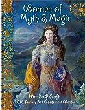 Women of Myth & Magic 2018 Fantasy Art Engagement Datebook Calendar