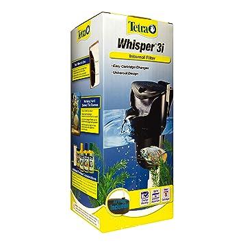 amazon com whisper in tank filter 3i for 1 3 gallon aquariums