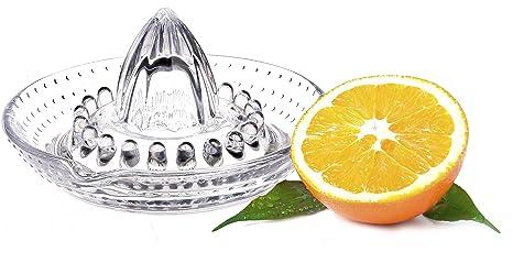 Exprimidor Vidrio Exprimidor mano naranja jugo 14 cm