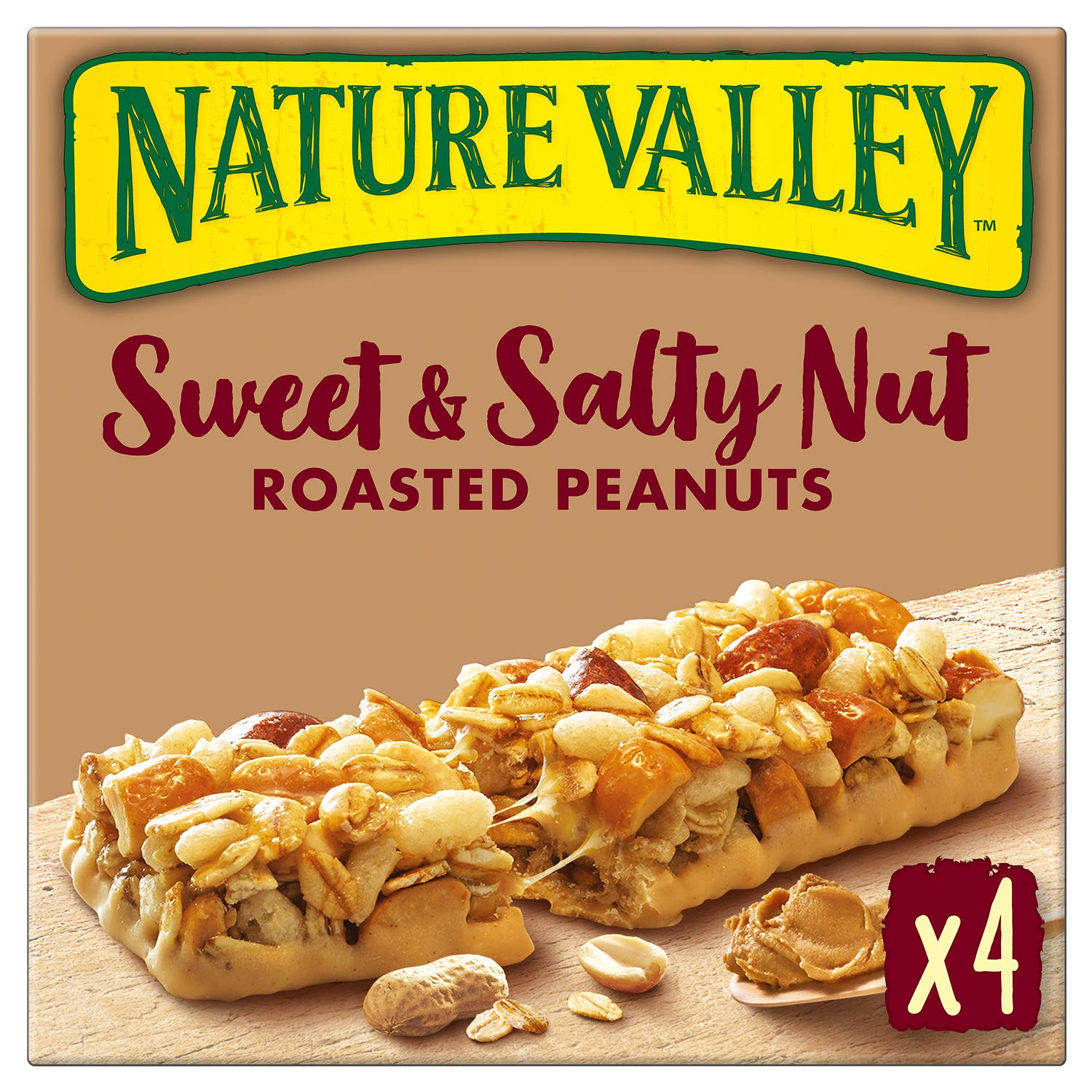 Nature Valley Sweet & Salty Nut Roasted Peanuts Cereal Bars, 120 g, 7006301043