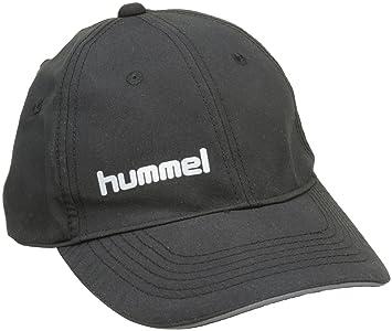 hummel 89-066-2001 - Gorra para Hombre, Color Negro, Talla Talla única: Amazon.es: Deportes y aire libre
