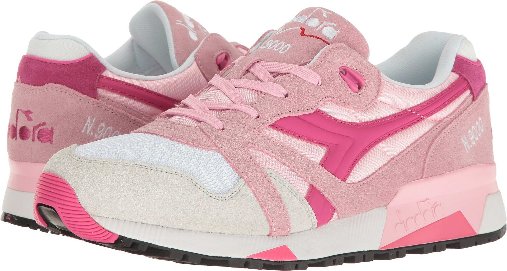 Diadora Unisex N9000 NYL Pink Rose Shadow/Magenta 13.5 Women/12 Men M US