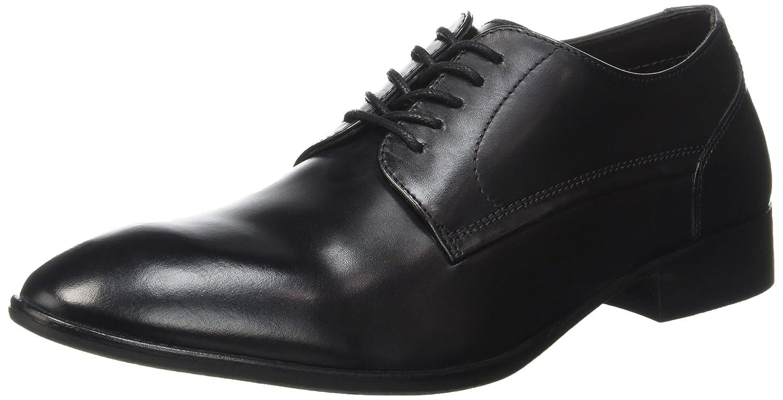 Hommes Noir Black Chaussures Lacées London Morse Base burnished 0wSqIfXxF
