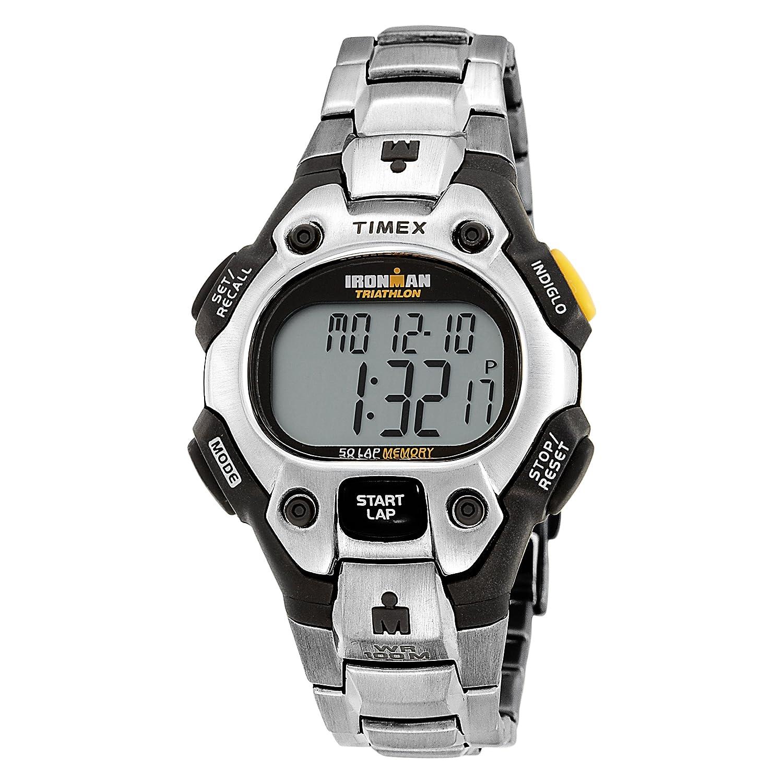 Amazon com: Timex Men's T5G801 Ironman 50-Lap Stainless Steel
