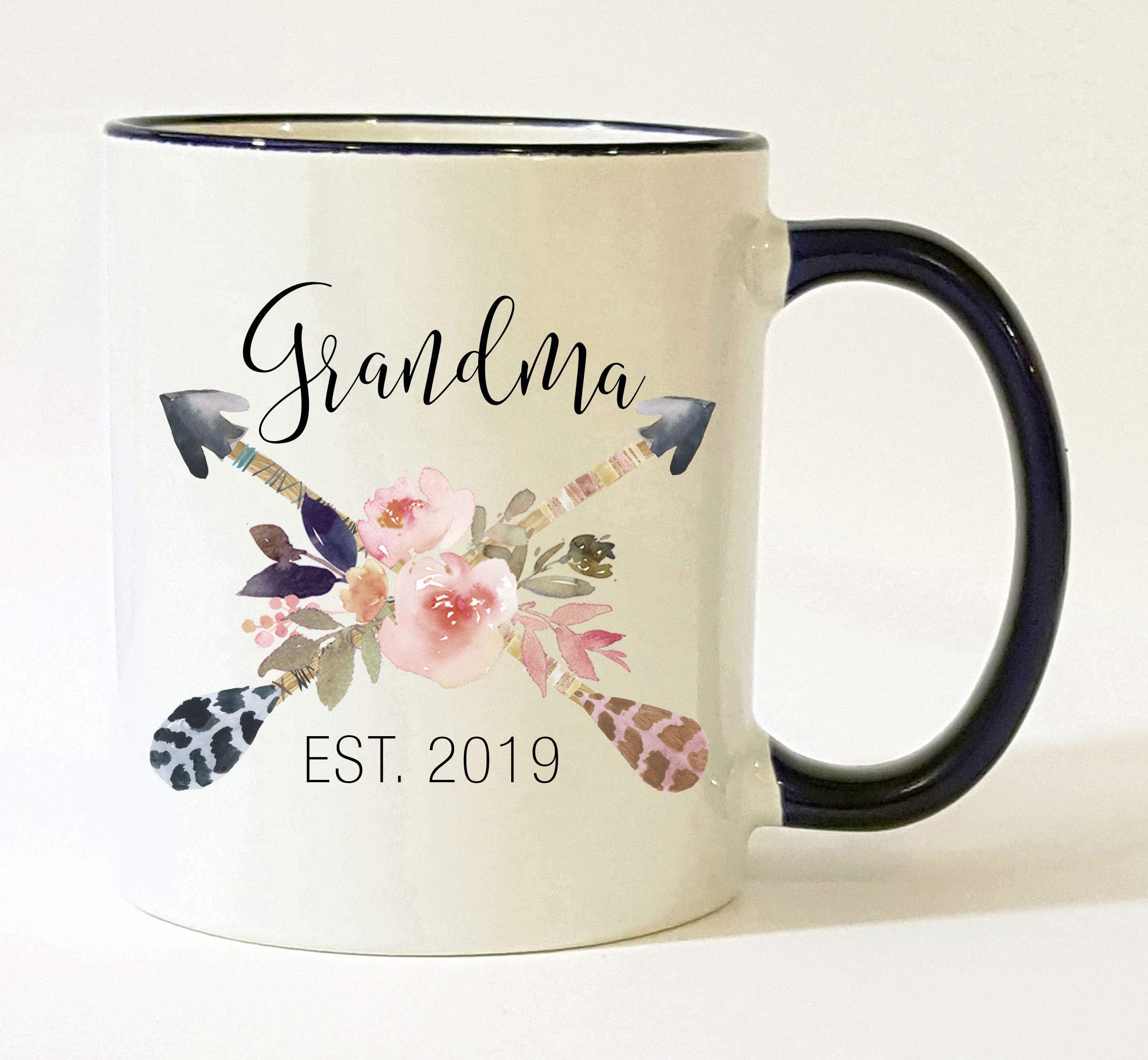 Grandma Est 2019 Mug Pregnancy Announcement 2019