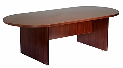 Amazoncom Boss Office Products Boss By Inch Conference Table - Hon racetrack conference table
