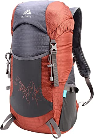 Large 40l Lightweight Travel Water Resistant Backpack//foldable /& Packable Hiking