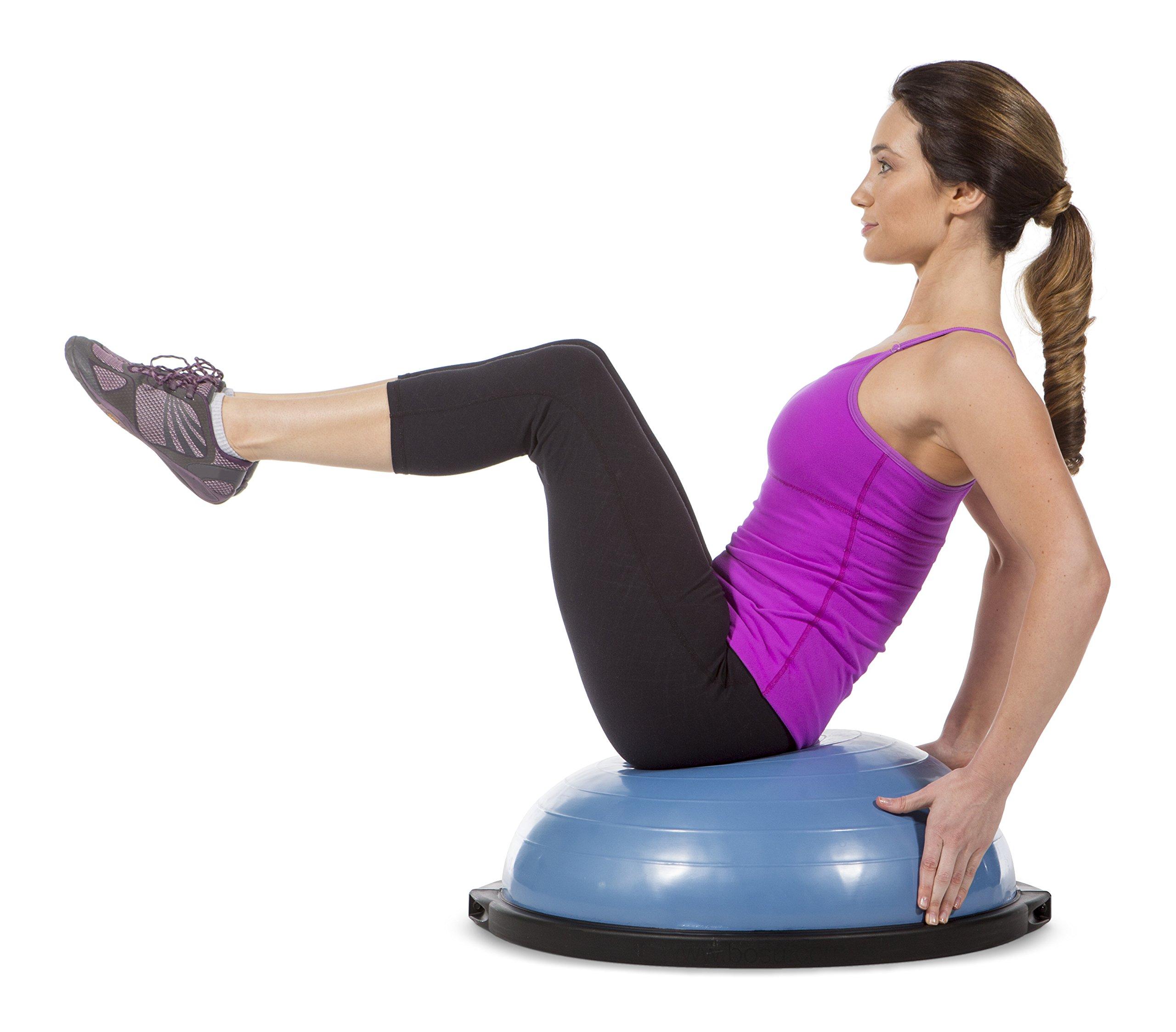 Bosu Balance Trainer, 65cm The Original - Blue/Blue by Bosu (Image #3)