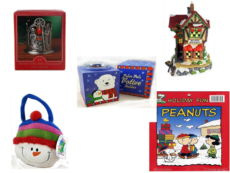 クリスマスFun for Everyoneギフトバンドル[ 5 Piece ] – Holiday Decor – アクセサリー – ギフトアイテム – Item No dbund-xmas-6724   B01N0FYX2R