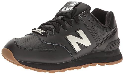 new balance 574 hombres negra