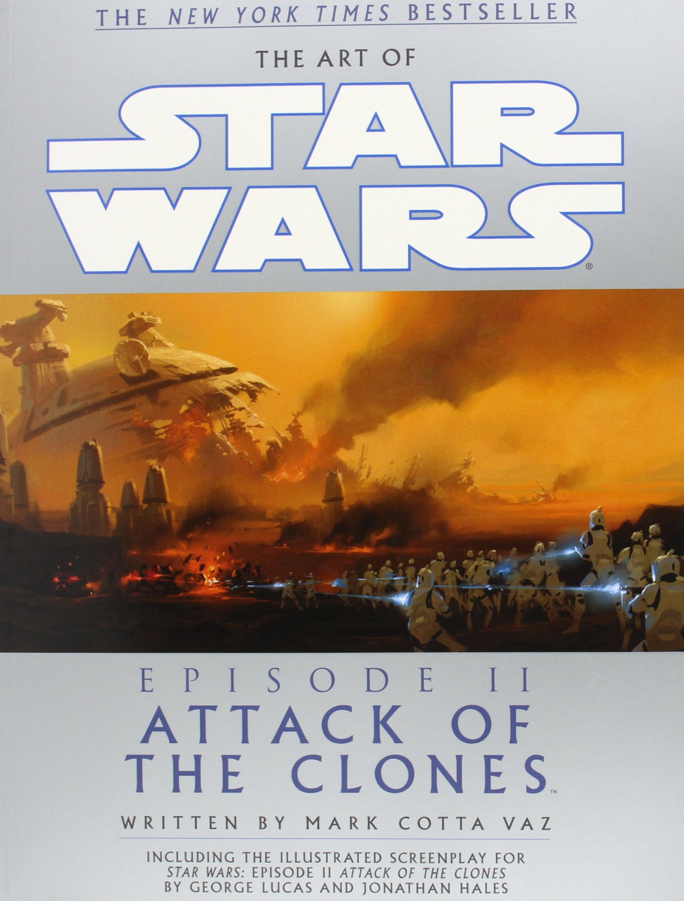 the art of star wars episode ii attack of the clones mark vaz