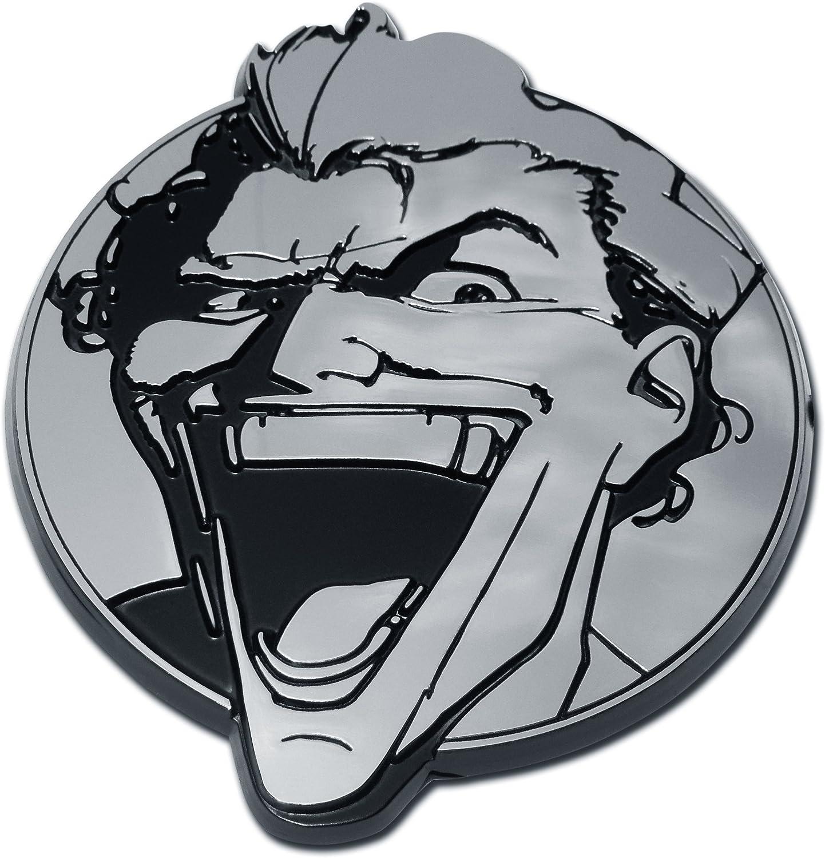 Elektroplate Harley Quinn Batman Chrome Auto Emblem