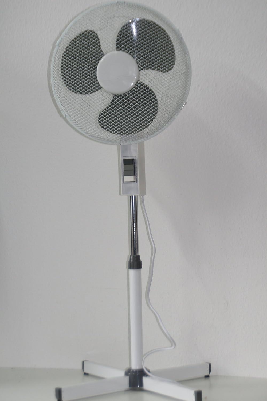 Ventilator 40 cm Stabventilator höhenverstellbar mehrfarbig 3 ...
