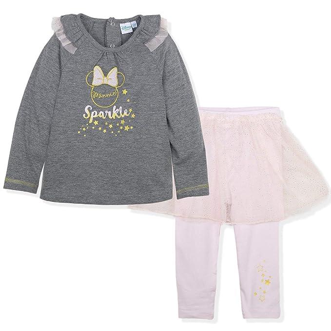 Minnie Mouse bebé-niñas Camiseta + Pantimedias: Amazon.es: Ropa y ...
