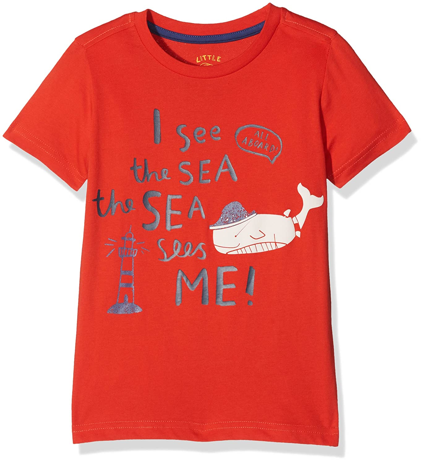 Mothercare Baby Boys' Little Marine T-Shirt