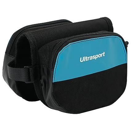 Ultrasport Bolsa doble para cuadro de bicicleta, bolsa para el tubo superior para llevar objetos