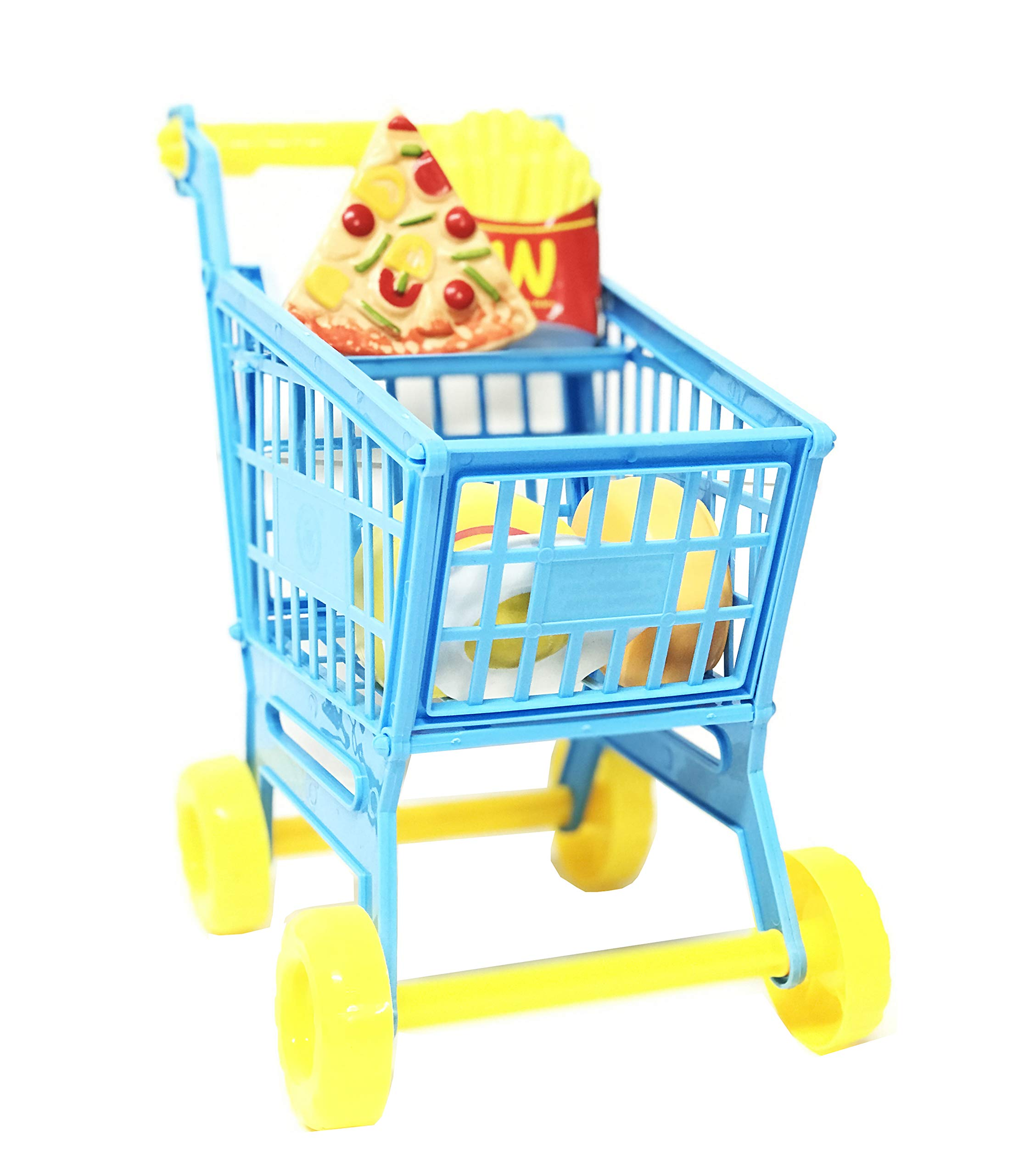 11 inch Fun Toy Shopping Day Grocery Cart Perfect for Kids Children Toddlers Learning Educational Development Pretend Game