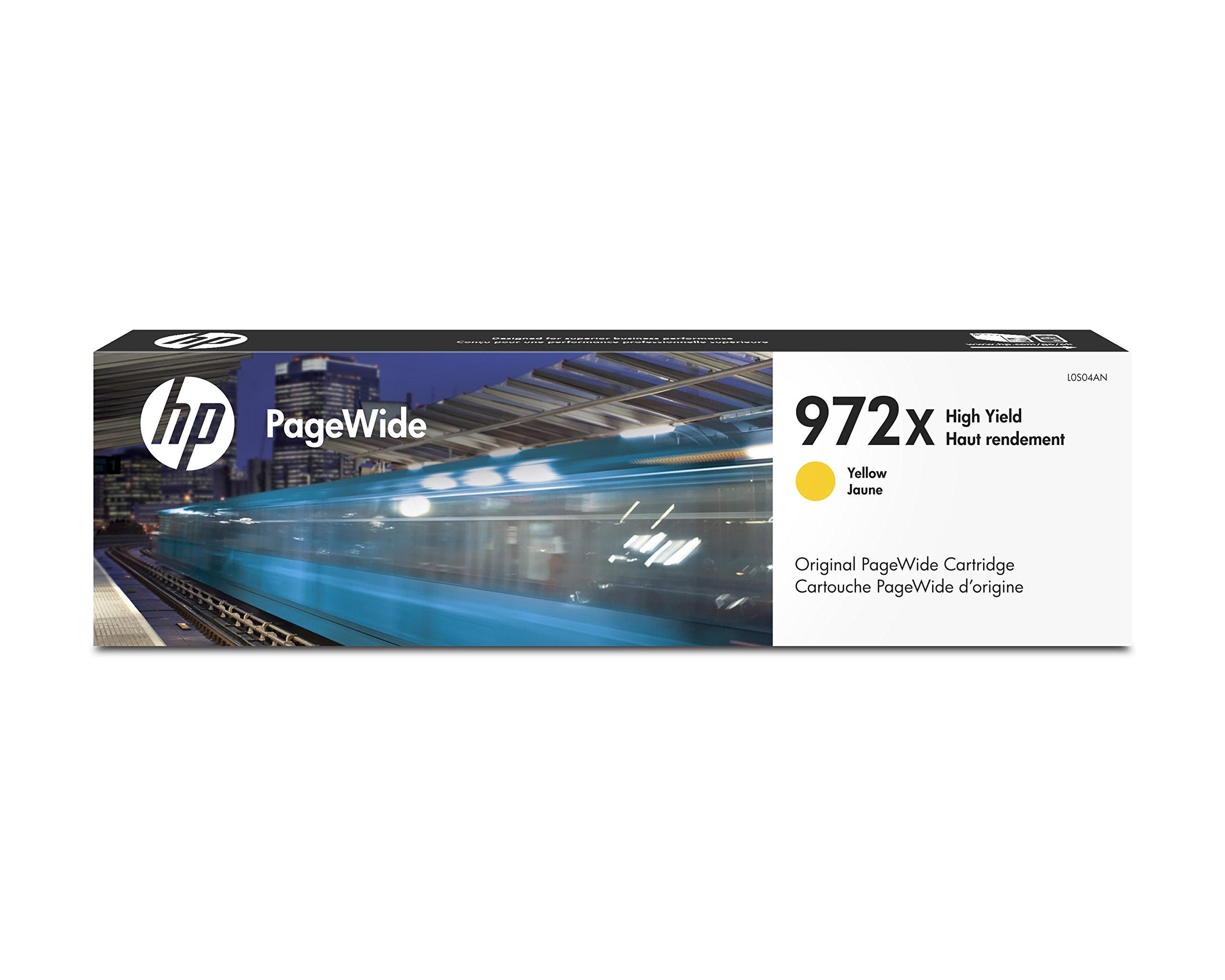 HP 972X Yellow High Yield Original PageWide Cartridge (L0S04AN)