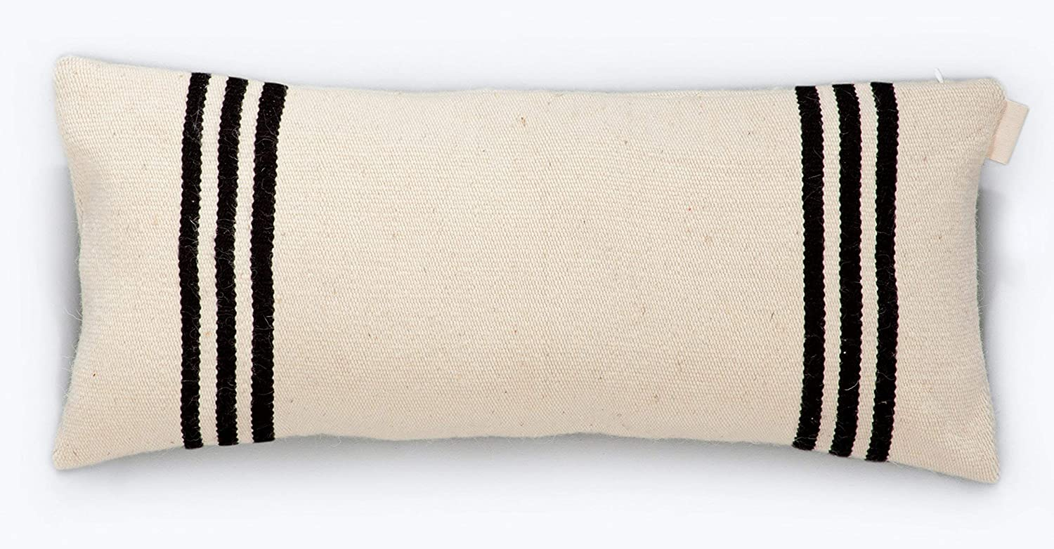 Alternanza Hand Embroidered Hand-Woven Wool Pillow Cover Made Of High Quality Durable THICK Wool