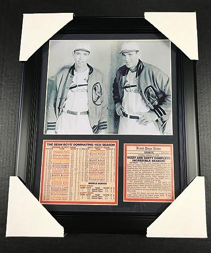 11x14 Framed /& Matted Dizzy /& Daffy Dean 1934 Season ST LOUIS CARDINALS 8X10 PHOTO