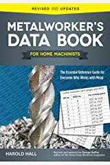 Metalworker's Data Book for Home Machinists: The Essential Reference Guide for Everyone Who Works with Metal (Fox Chapel Publishing) Drill Sizes, Turning Tools, Electrical Components, Threads, & More Paperback