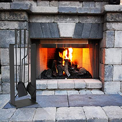 Home & Kitchen Tool Sets HappyPicnic 5 PCS Fireplace Tools Set ...