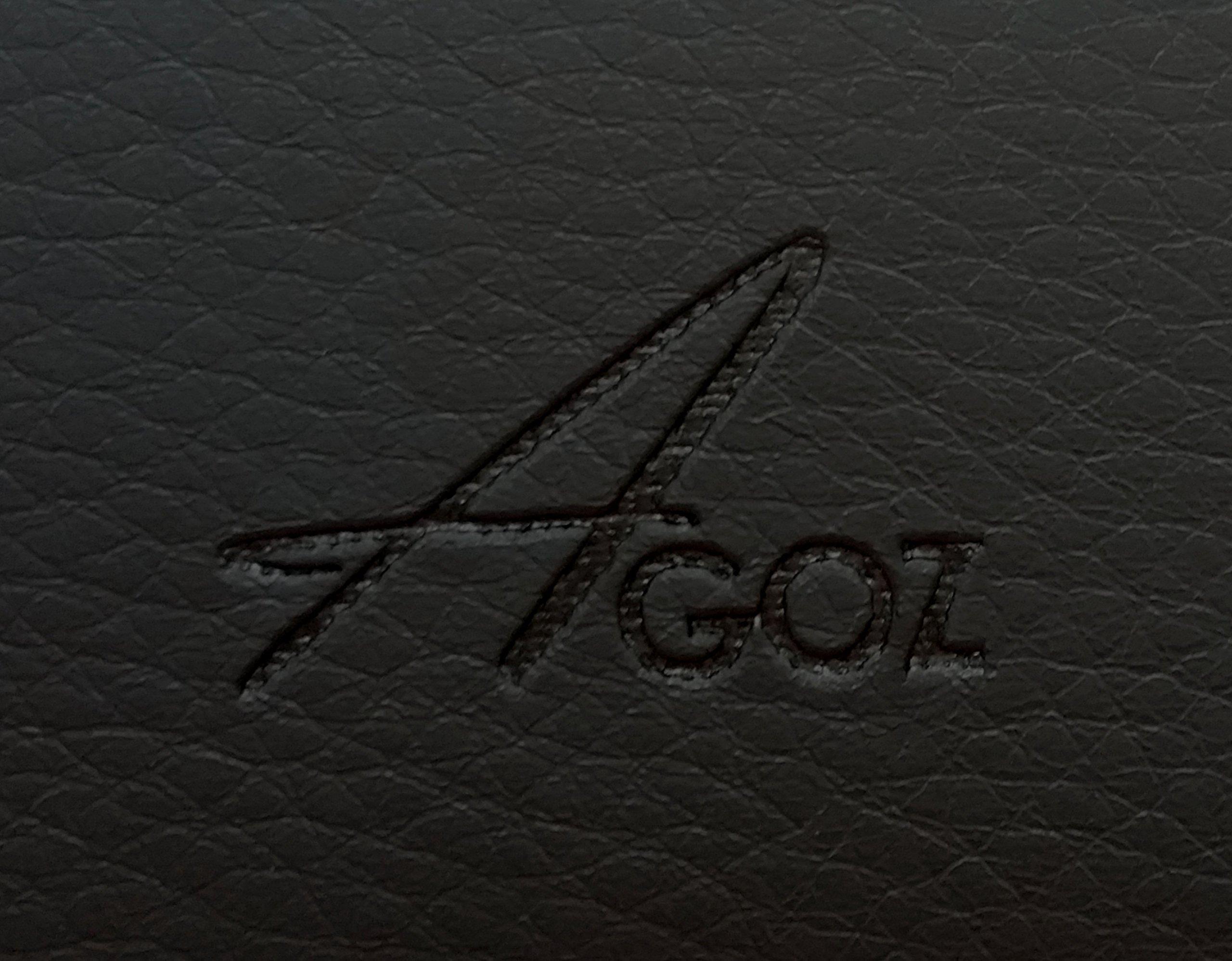 Motorola Moto Z Force Droid Edition, Moto Z Play Droid, Moto Z2 Force, Moto Z2 Play, Z Play (2nd Gen), Moto Z3 Play, Premium Leather AGOZ Pouch Case Holster Belt Clip & Loops