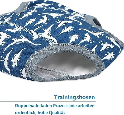 AolsteCell Baby Trainingshose Kinder Trainingsw/äsche Kleinkind T/öpfchen Trainingshose Baby Unterw/äsche Toilettentraining Unterw/äsche