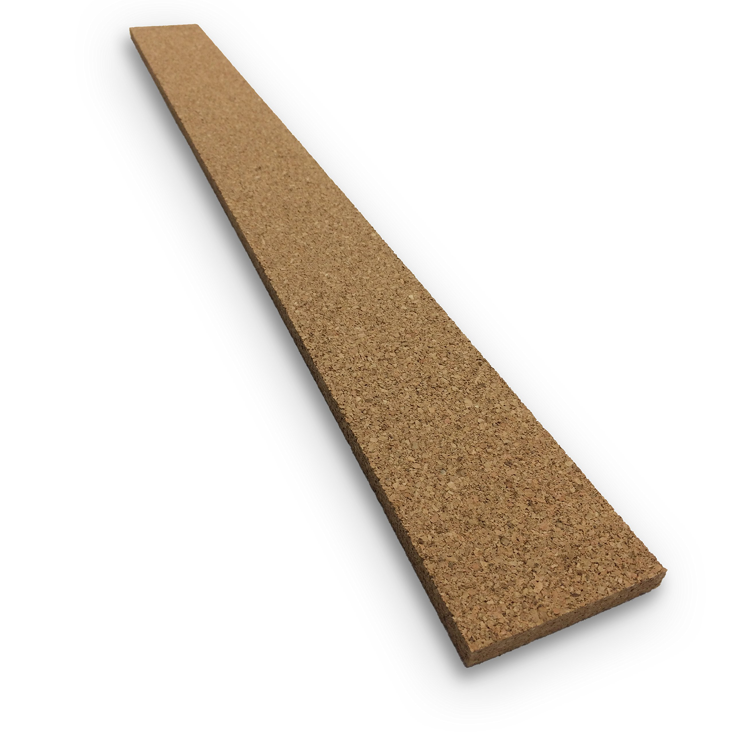 Thick Multi Purpose Cork Strips (8 Pack) Classroom Bulletin Board Bar 36x3.5x0.5 Inches