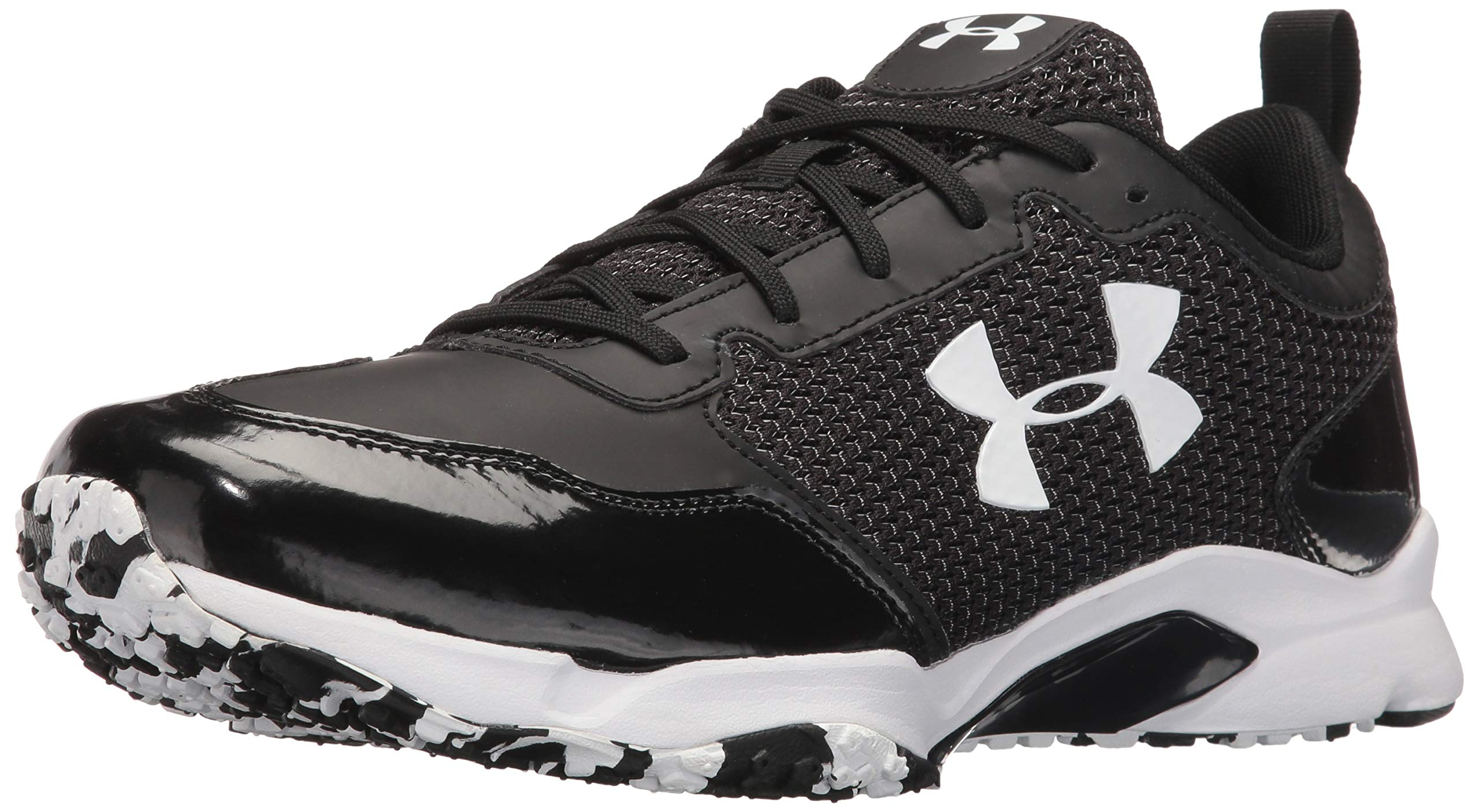 Under Armour Men's Ultimate Turf Trainer, Black (001)/Black, 9.5