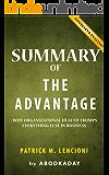 Summary of The Advantage: by Patrick M. Lencioni | Includes Analysis of The Advantage