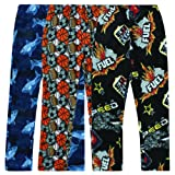 Amazon Price History for:3 Pack: Fleece Pajama Pants / Bottoms for Boys & Girls - Packs of 3 Assorted Designs and Sizes