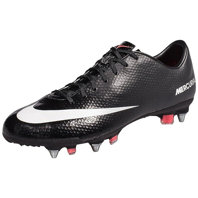 Nike - Botas de fútbol de según descripción para Hombre Negro ...