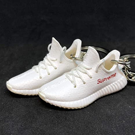 on sale ef196 e8ff9 Amazon.com : Pair Yeezy Boost 350 V2 Sply Supreme Red White ...