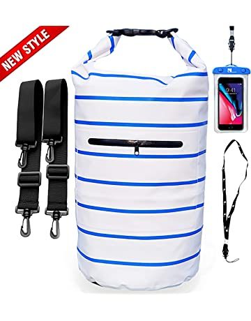 0a0f549a353a NVcompany Floating Waterproof Bag Sack - Dry Bag Kayaking Camping 20L Roll  Top Keeps Your Gear