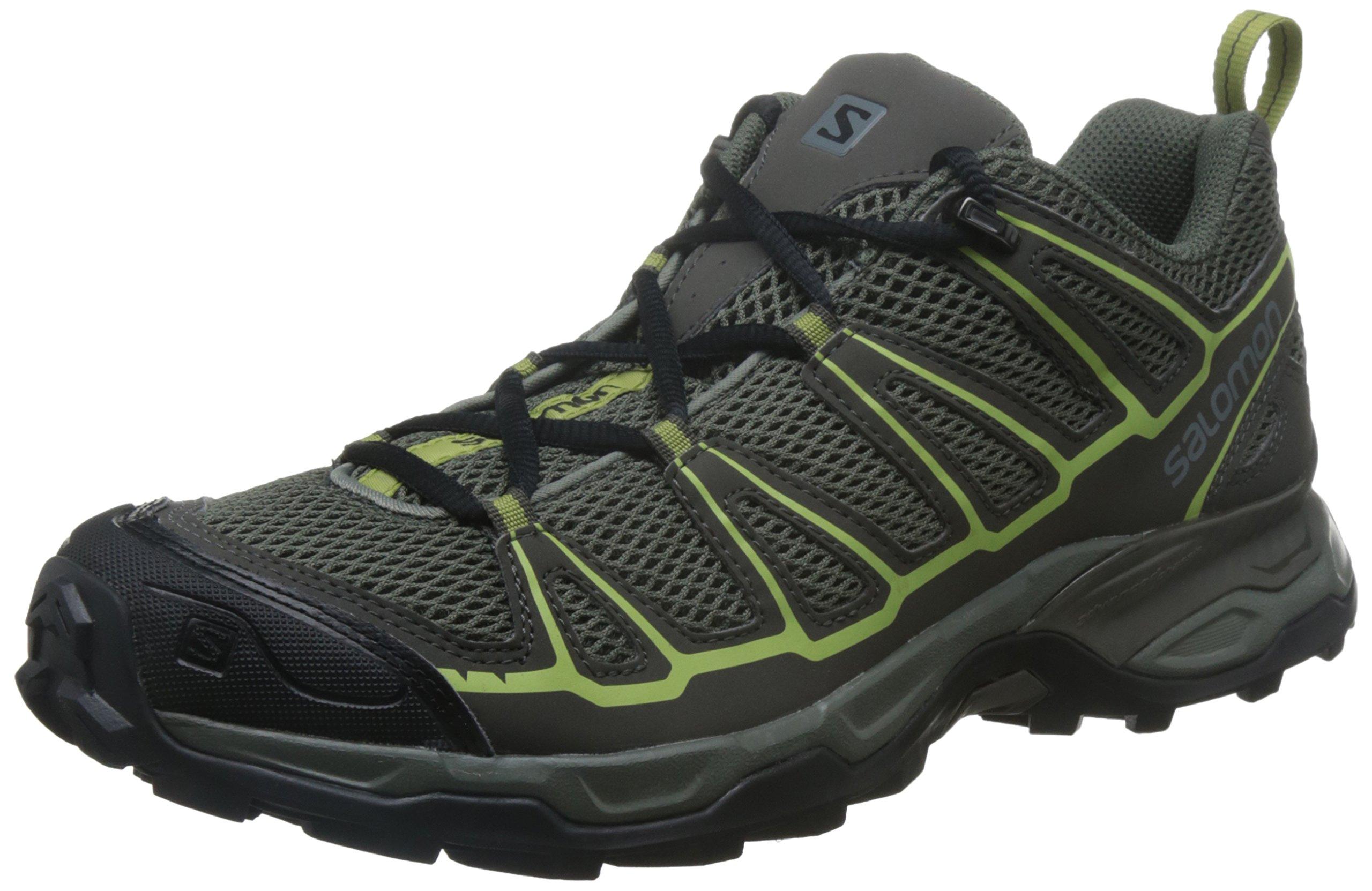 Salomon Men's X Ultra Prime Hiking Shoe, Castor Gray, 10.5 M US