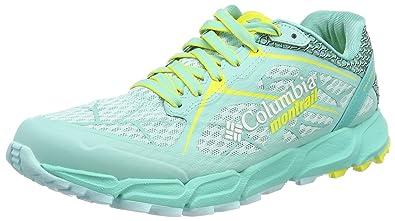 Columbia Caldorado II Women's Trail Running Shoes - SS17-8.5 - Blue