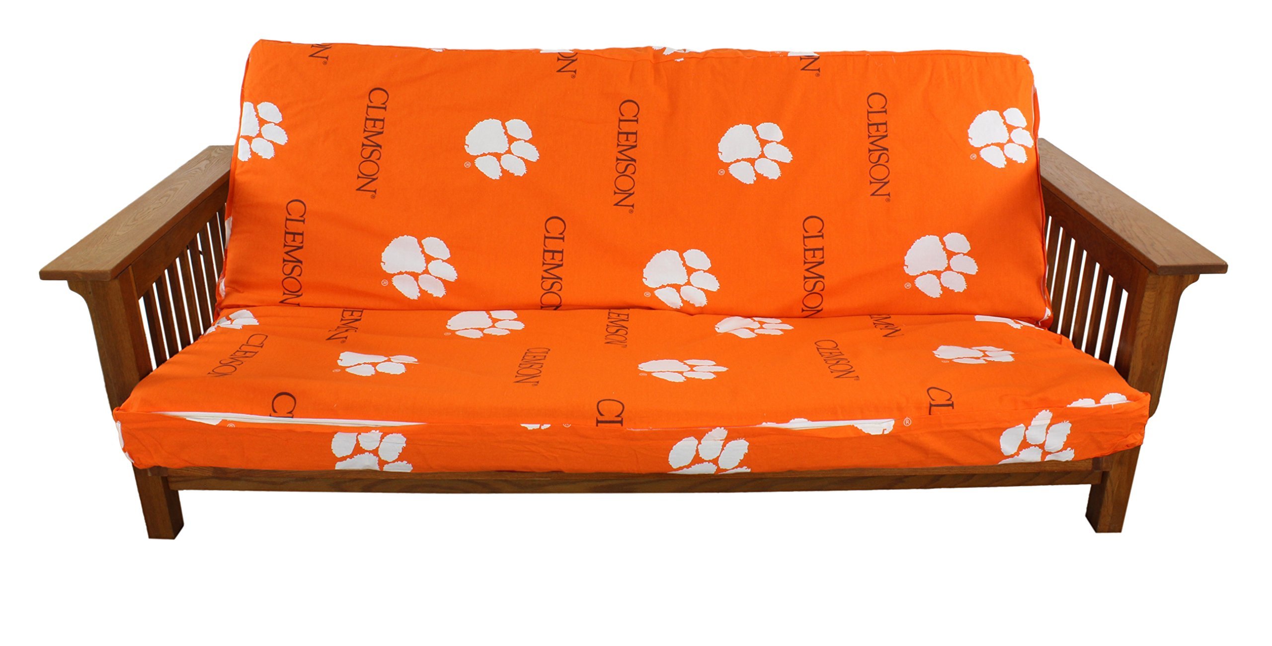 College Covers Clemson Tigers Futon Cover, Full