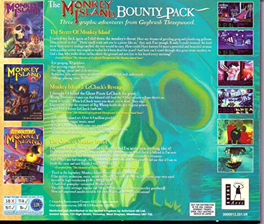 The Monkey Island Bounty Pack  The Secret of Monkey Island   Monkey Island  2 7878c3270024
