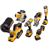 DEWALT DCK665P3T-GB Cordless Kits, Yellow/Black, 6pc