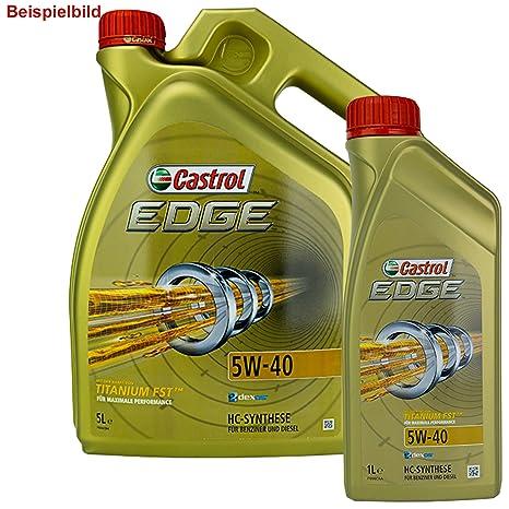 Pintura al óleo Castrol Edge 5 W de 40 6L