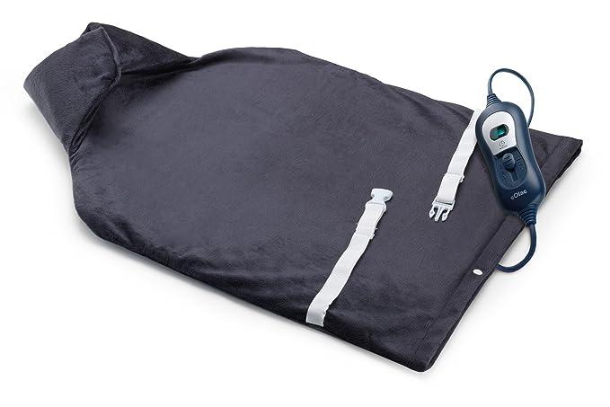Solac Almohadilla Eléctrica Cervical y Espalda - 600 gr: Amazon.es: Salud y cuidado personal