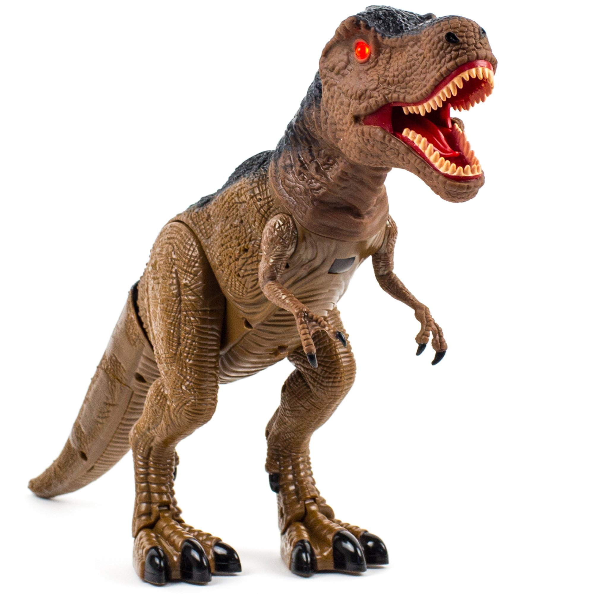 Toysery Jurassic World Dinosaur Toys with Light Up Eyes and Roaring Sound Walking Dinosaur Toy Set for 3-12 Year Boys and Girls - Perfect Remote Control Dinosaur Gifts for Birthdays by Toysery (Image #2)