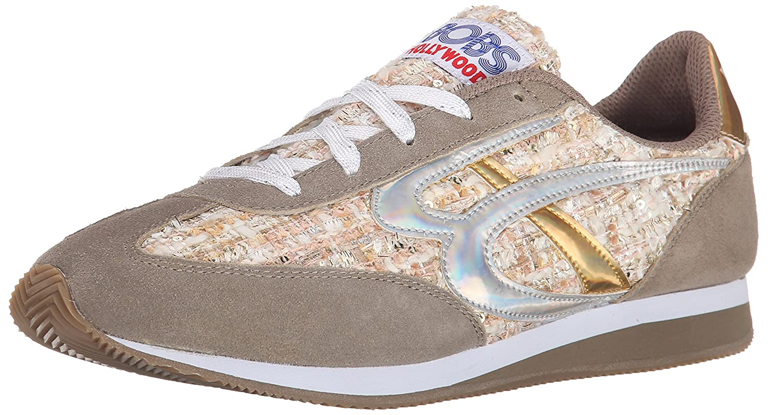 Skechers BOBS from Women's Sunset Fashion Sneaker B00T00OVV0 6.5 M US|Taupe/Natural