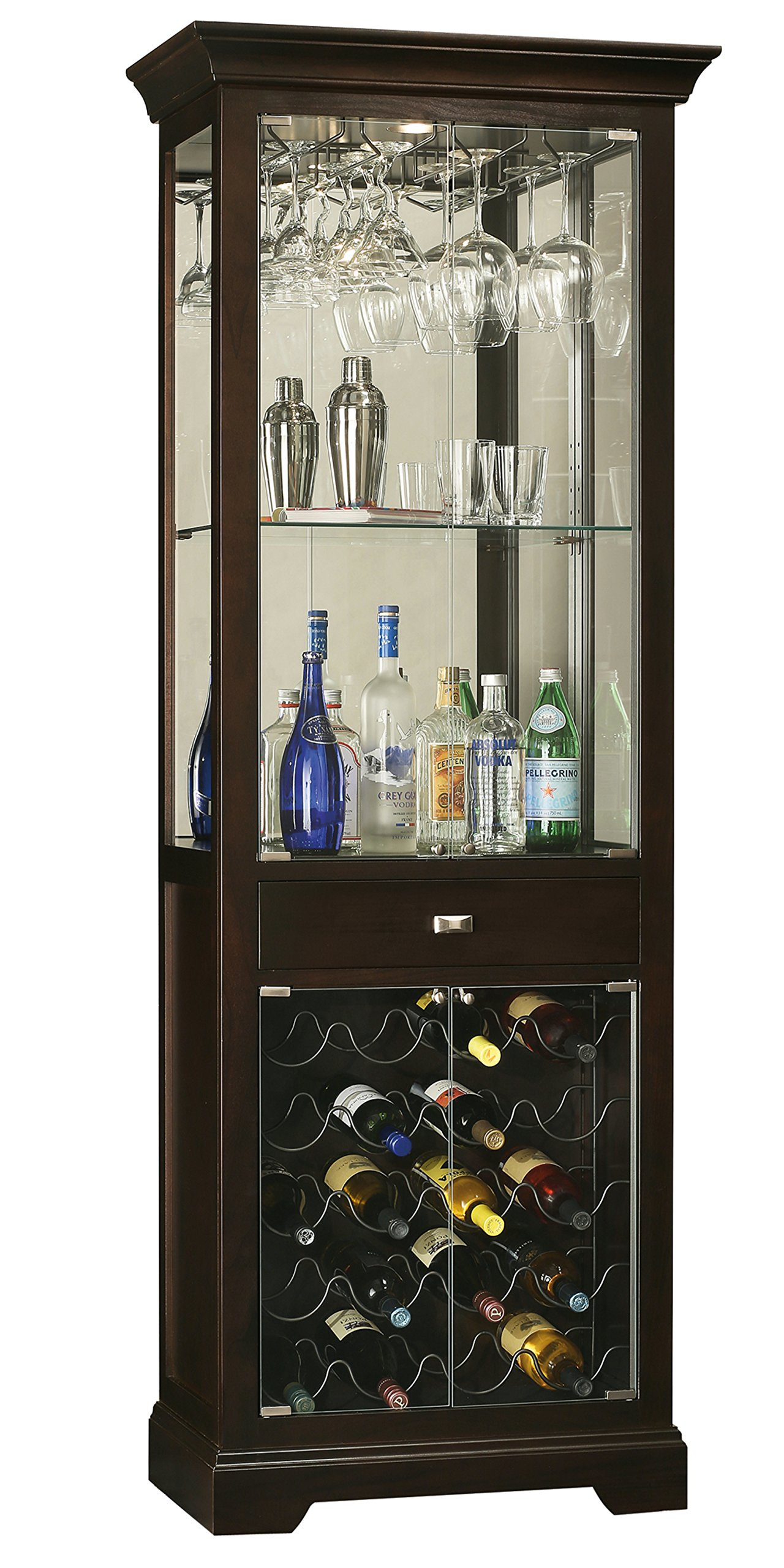Howard Miller Gimlet Wine and Bar Storage Cabinet by Howard Miller